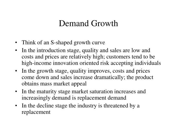 Demand Growth