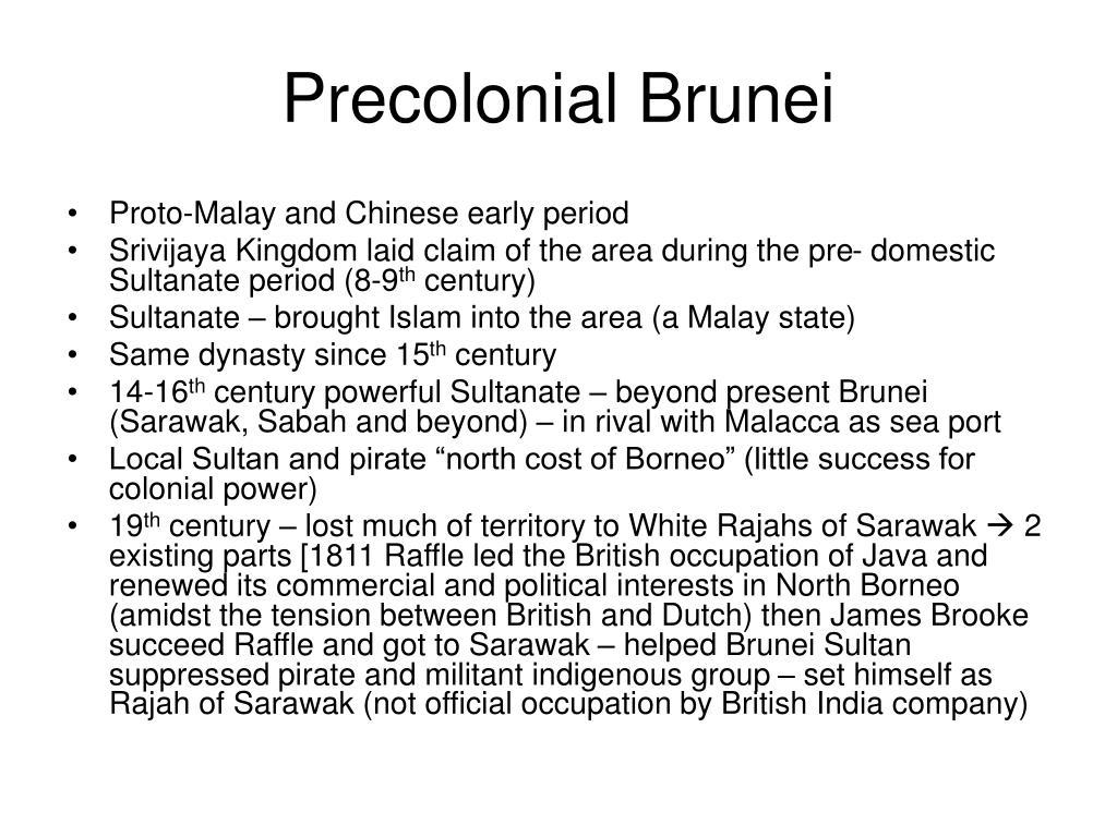 Precolonial Brunei