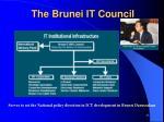the brunei it council