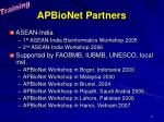 apbionet partners