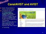 canalavist and avist
