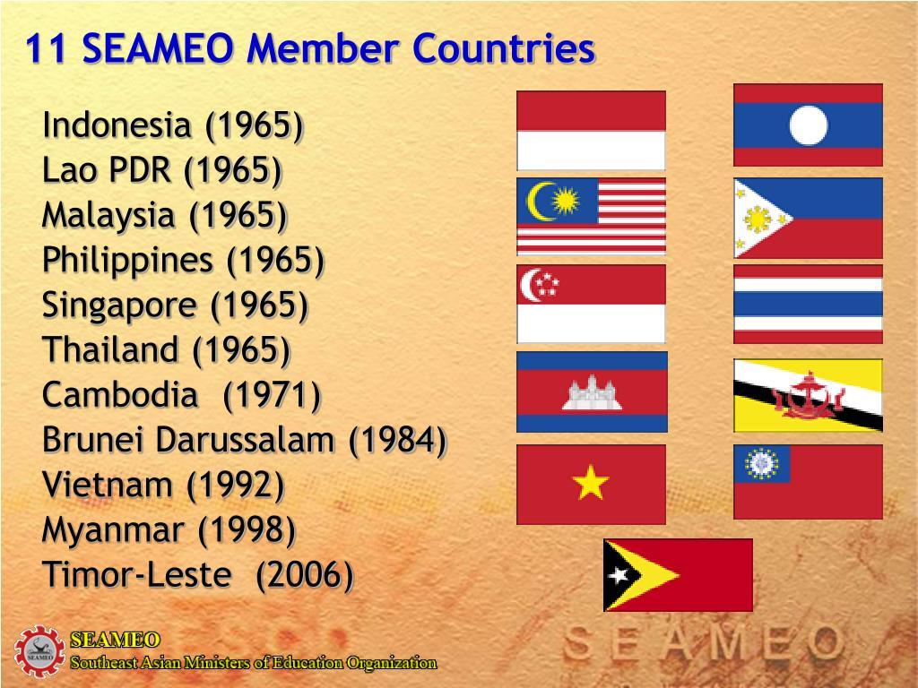 11 SEAMEO Member Countries