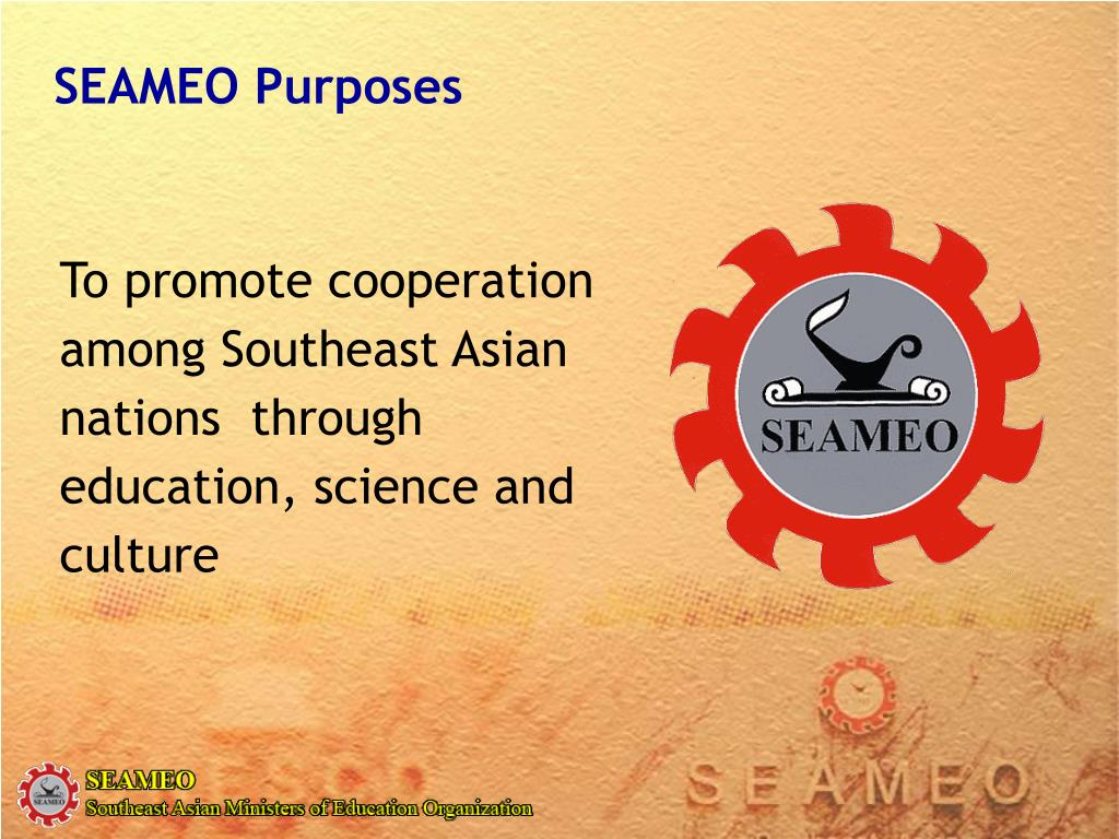 SEAMEO Purposes