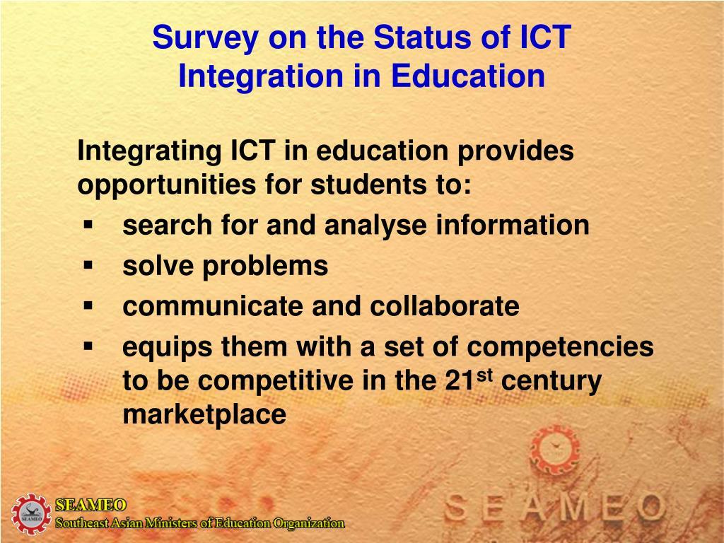 how priorisation of ict in education