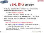 a big big problem