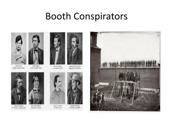 Booth Conspirators