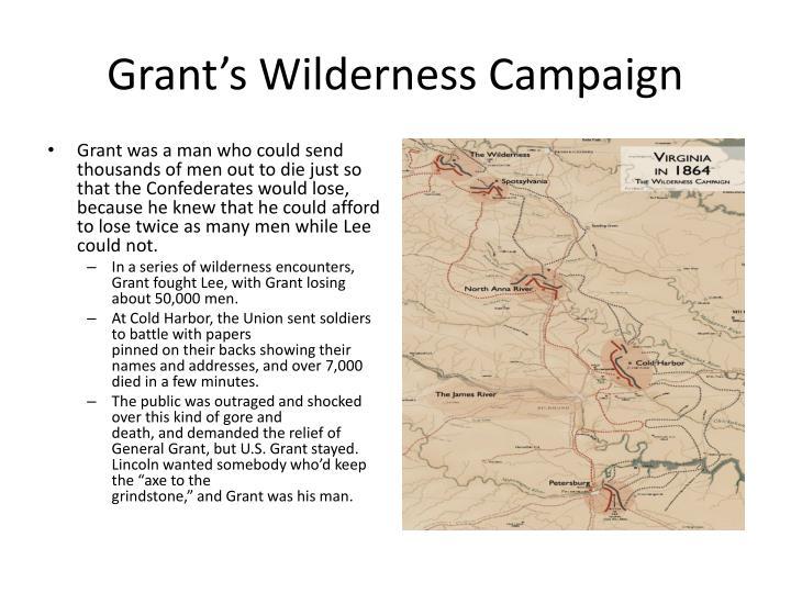 Grant's Wilderness Campaign