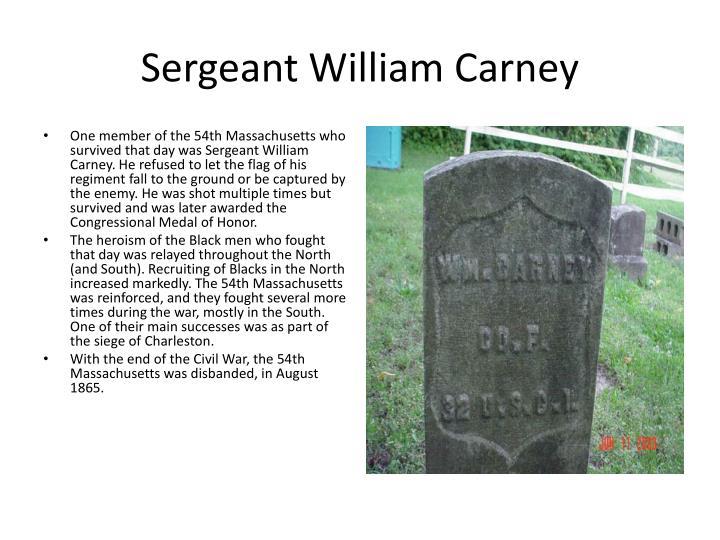 Sergeant William Carney