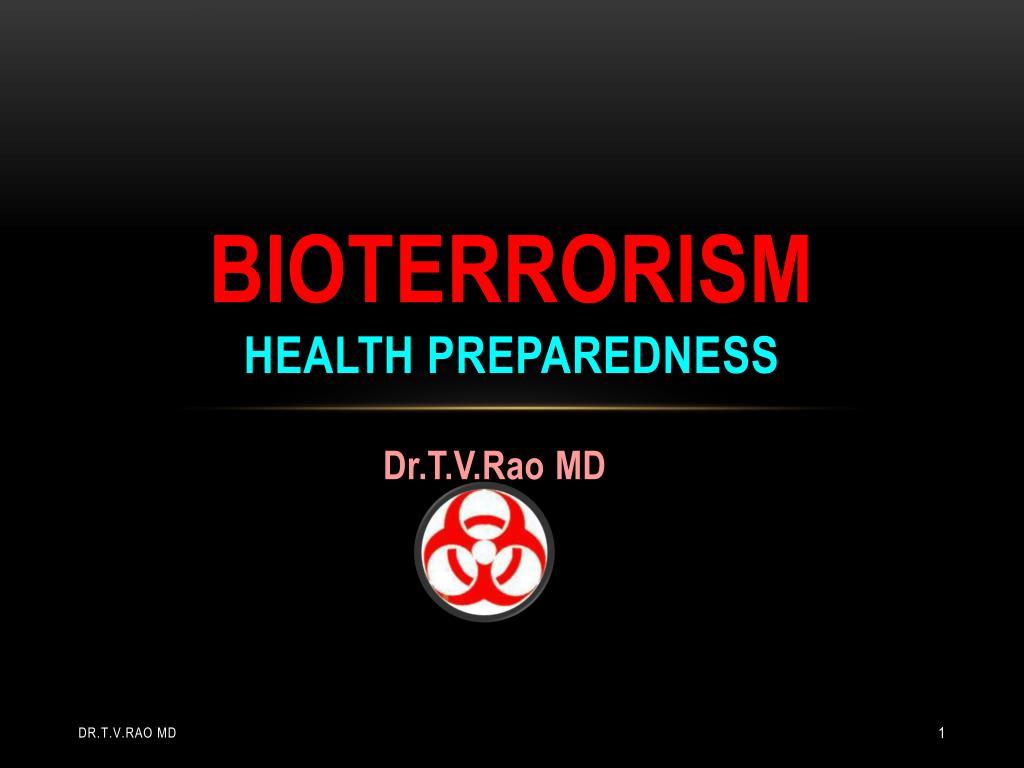 bioterrorism health preparedness l.