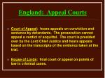 england appeal courts