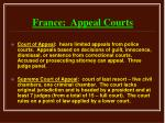 france appeal courts