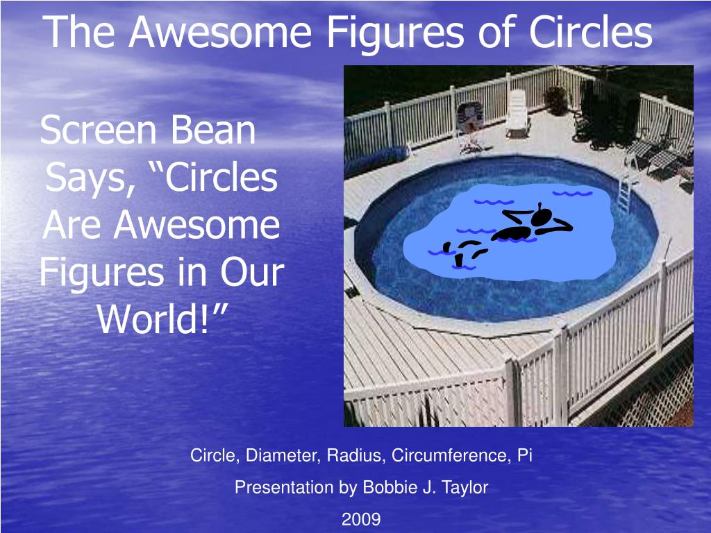 The Awesome Figures of Circles