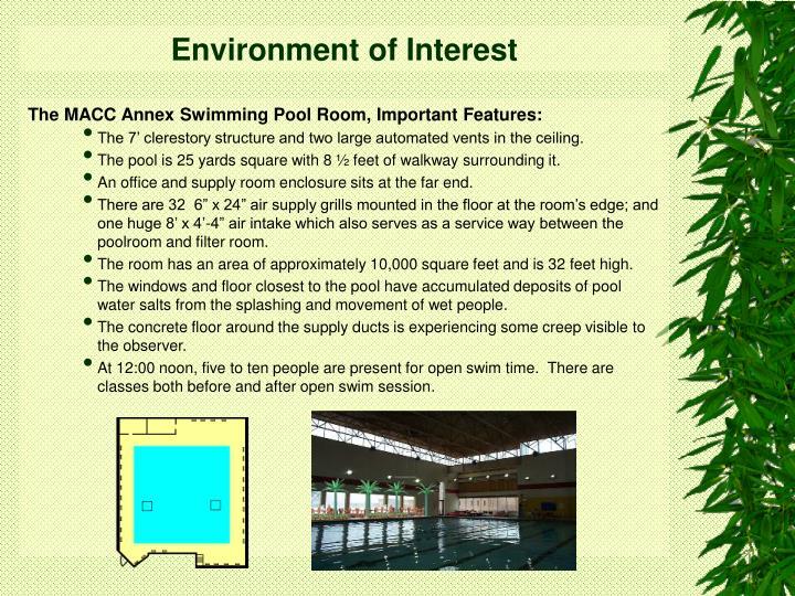 Environment of interest