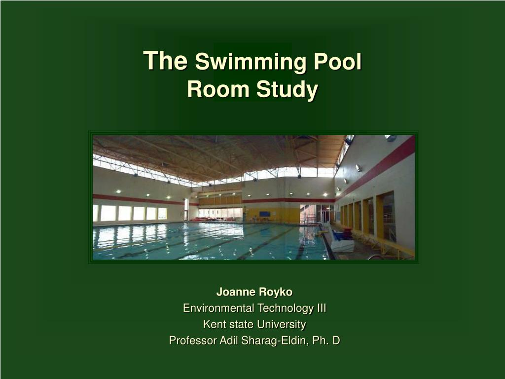 the swimming pool room study l.