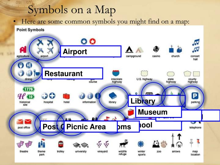 Ppt Maps And Symbols Powerpoint Presentation Id1116321