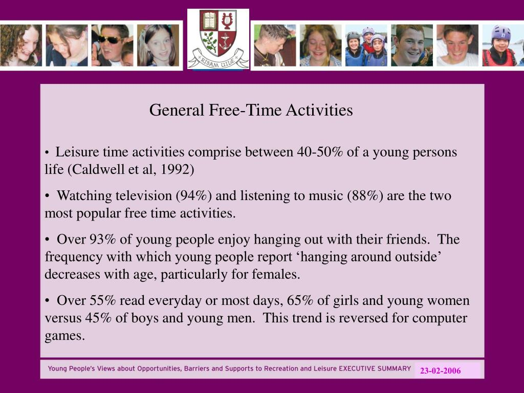 General Free-Time Activities