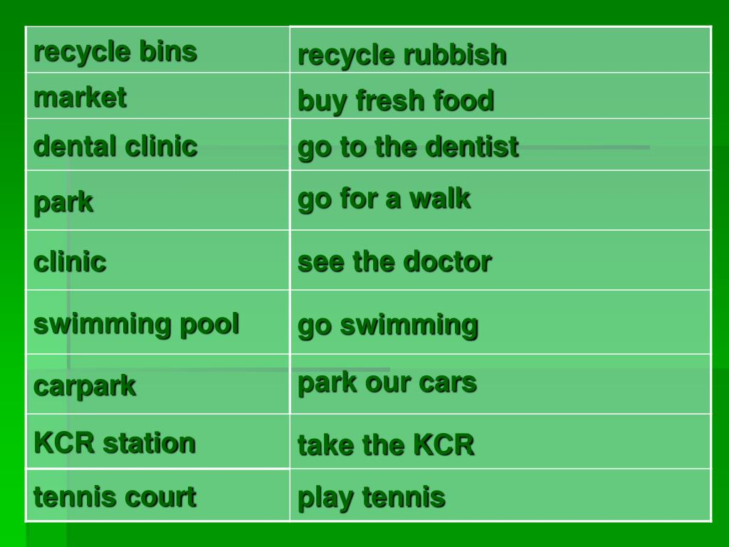 recycle rubbish