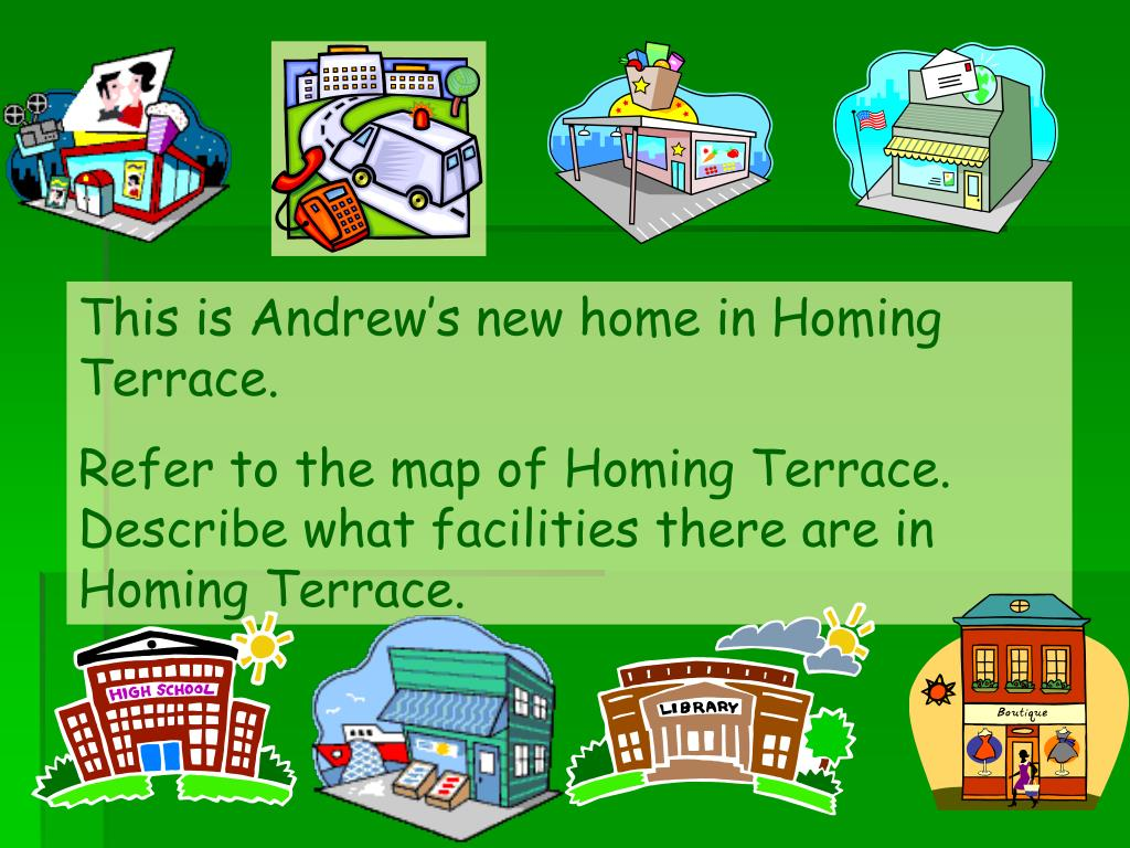 This is Andrew's new home in Homing Terrace.