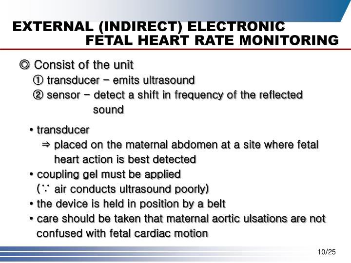 EXTERNAL (INDIRECT) ELECTRONIC