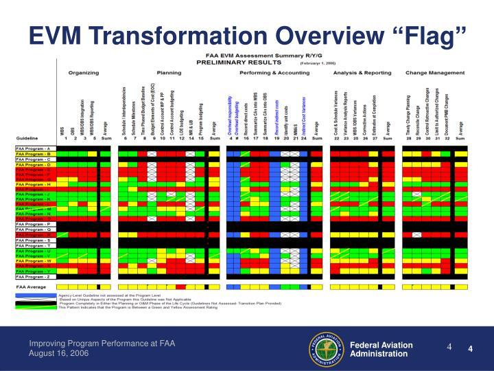 "EVM Transformation Overview ""Flag"""