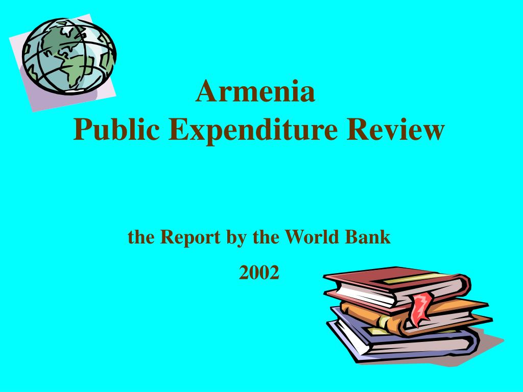 armenia public expenditure review the report by the world bank 2002 l.