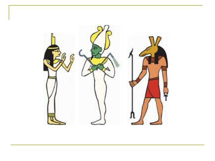 Egyptian mythology in art