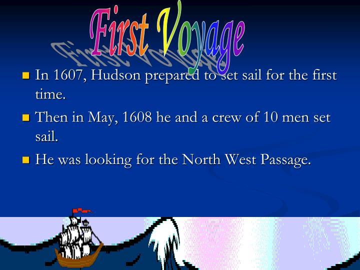 First Voyage