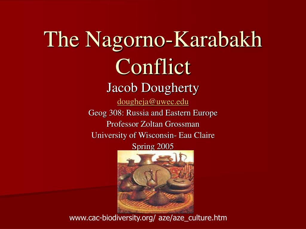 the nagorno karabakh conflict l.