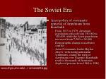 the soviet era