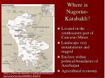 where is nagorno karabakh
