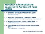 armenia partnerships cooperative agreement fund usaid