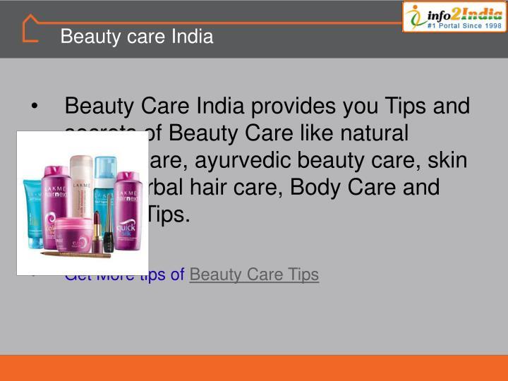 Beauty care India