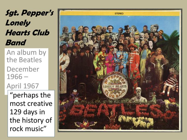 sgt pepper s lonely hearts club band n.