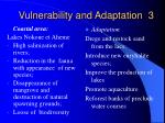 vulnerability and adaptation 3