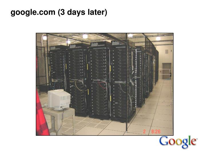 google.com (3 days later)