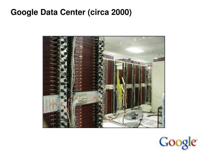 Google Data Center (circa 2000)