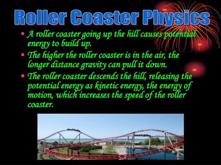 Ppt Roller Coaster Physics Powerpoint Presentation Id