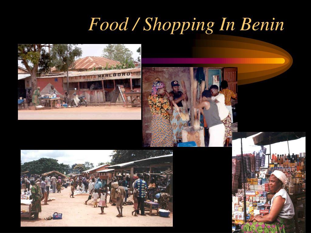 Food / Shopping In Benin