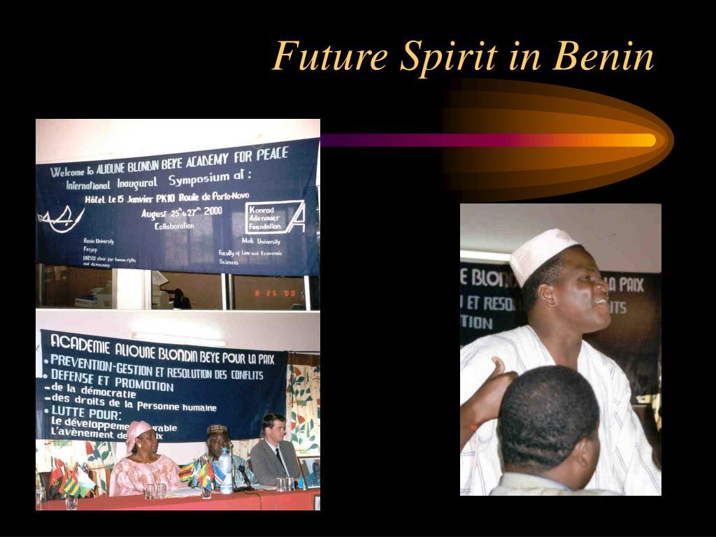 Future Spirit in Benin