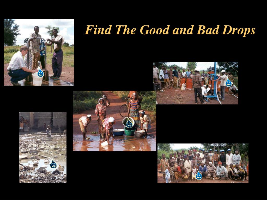Find The Good and Bad Drops