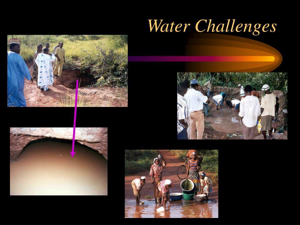 Water Challenges