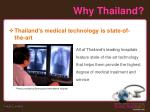why thailand6