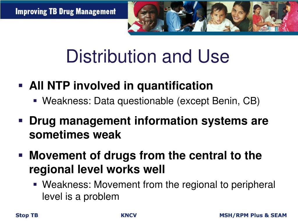 Distribution and Use