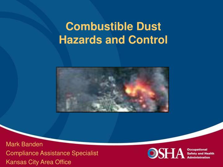 combustible dust hazards and control n.