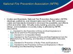 national fire prevention association nfpa