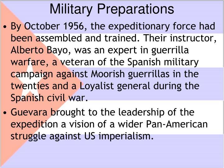 Military Preparations