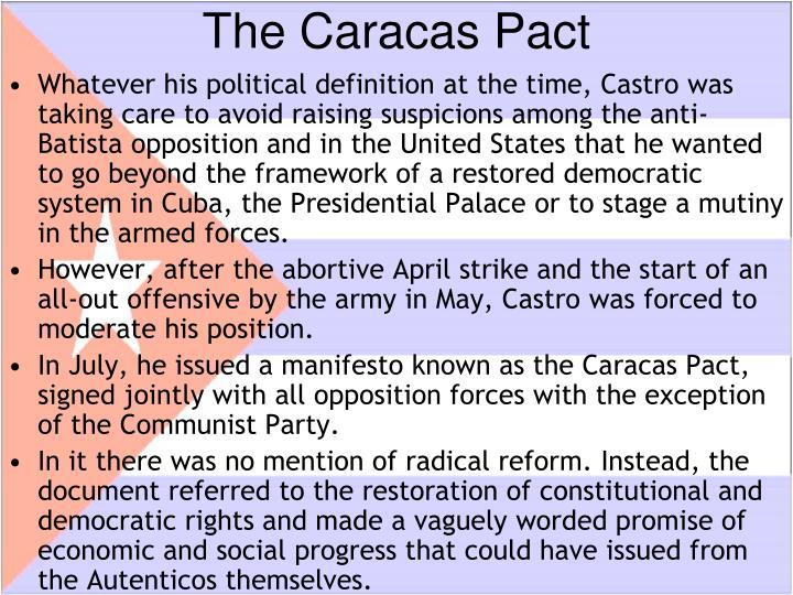 The Caracas Pact