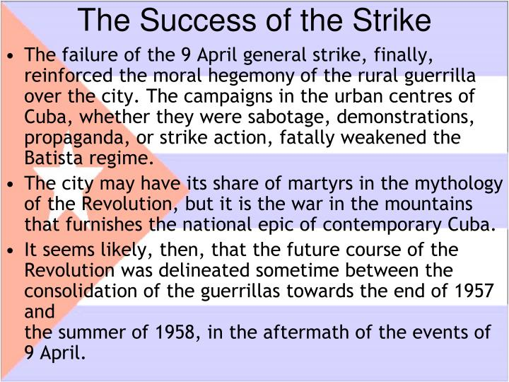 The Success of the Strike