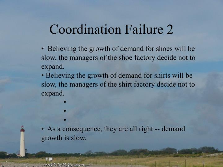 Coordination Failure 2
