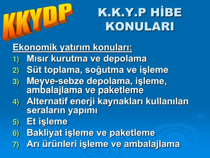 KKYDP